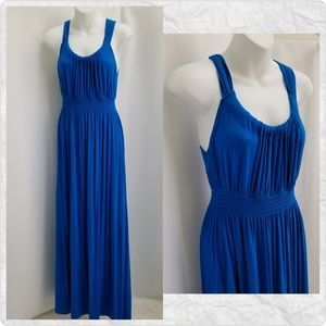 Spense Maxi Dress Blue